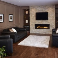 Modern Stone Fireplace Design Houzz | Home Design ...