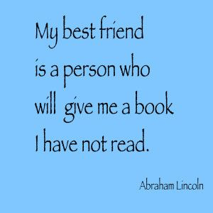 Book Quote -Abraham Lincoln