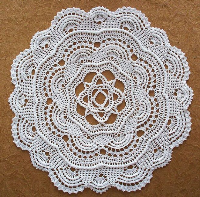 Ravelry: Round Ribbed Doily pattern by Richard Sechriest