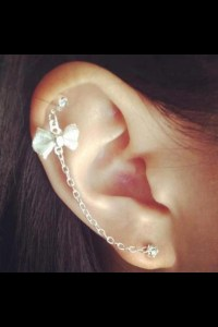 cartilage chain earring | pretty | Pinterest
