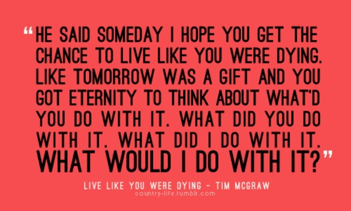 Image result for images for tim mcgraw live like you were dying
