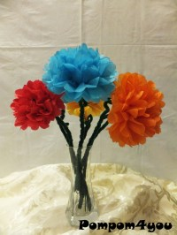 flowers with tissue paper and pipe cleaner - 28 images ...