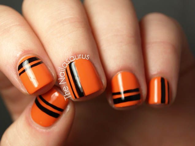 Spiderwebs! Jack-O-Lanterns! 15 Spooky Nail Art Designs