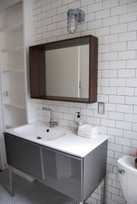 subway tile | Modern Bathroom | Pinterest