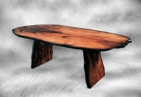 Tree slab dining table | Tables | Pinterest
