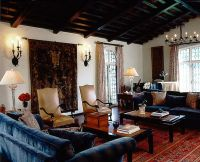 Spanish Colonial Revival Living Room