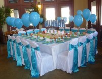 undersea party table set up   Table Decoration Ideas ...