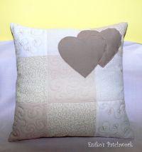 Love pillow   Eniko's Patchwork Pillows   Pinterest