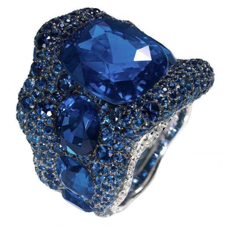 Cuando el zafiro se convierte en sortija: Vagabonde Bleue de Fabergé