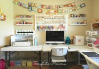 Craft Room on a Budget! | Craft Room Ideas | Pinterest