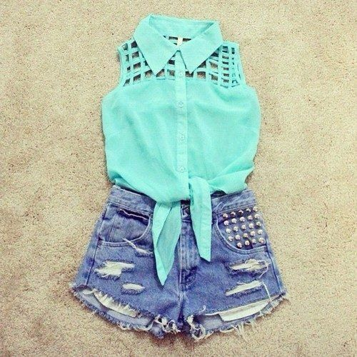 So cuuuute. Wish I had high wasted shorts