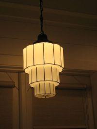 art deco light fixture | Minis Art deco | Pinterest