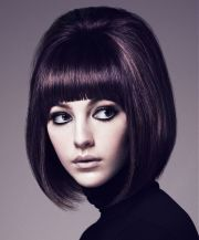 retro 60s inspired hairstyle