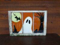 painted window | Halloween/ Autumn | Pinterest