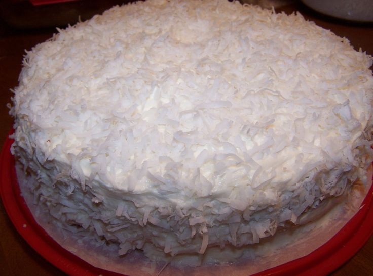 Best Old Fashioned Coconut Cake Recipe