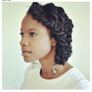cute protective hairstyle soulfully