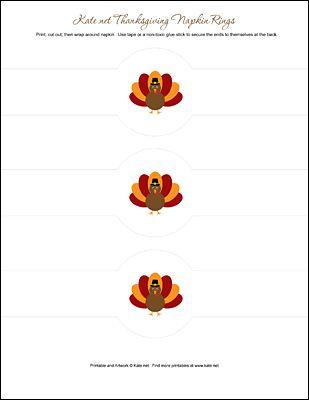 Thanksgiving Party Printables IeZombie Blog