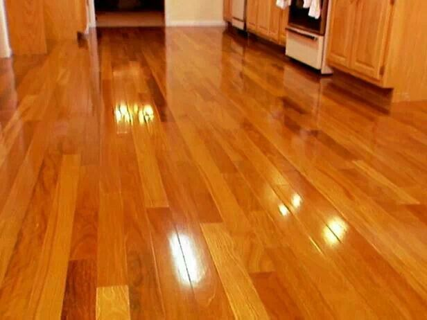 To clean  shine hardwood floors  Environmentally