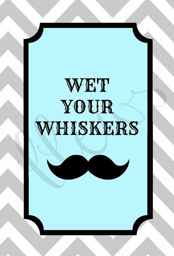 Mustache Baby Shower Invitations Etsy