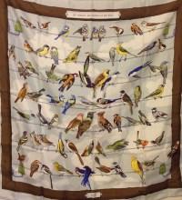 Hermes vintage bird scarf   Scarves   Hats   Pinterest