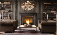 Living room fireplace | Interior Design Theme - Victorian ...