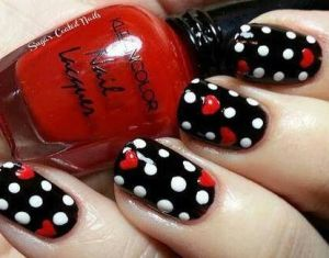 Ideas About Valentine Day Nails On Pinterest Nails