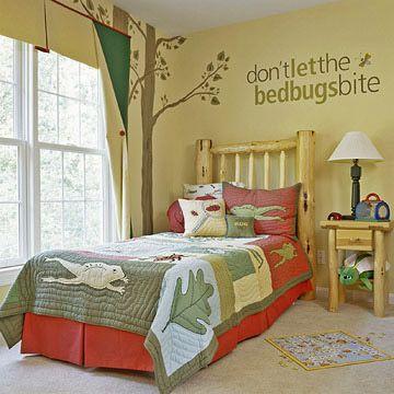 Boys Bedroom - Outdoorsy Hideaway
