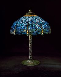Tiffany Dragonfly Library Lamp   Tiffany   Pinterest