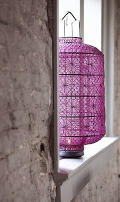 Lanterne/lantern--purple, grey