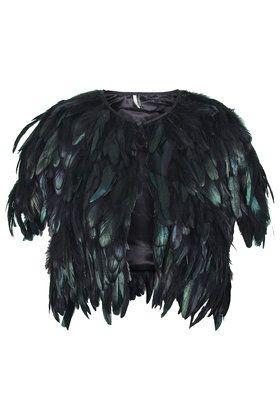 Shiny Feather Cape