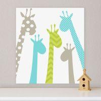 Giraffe, Children's Wall Art, Nursery Wall Art, Giraffe ...