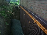 exterior basement wall waterproofing