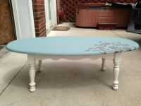 Coffee table redo. | Leslie J's - Upcycle, repurpose, and ...