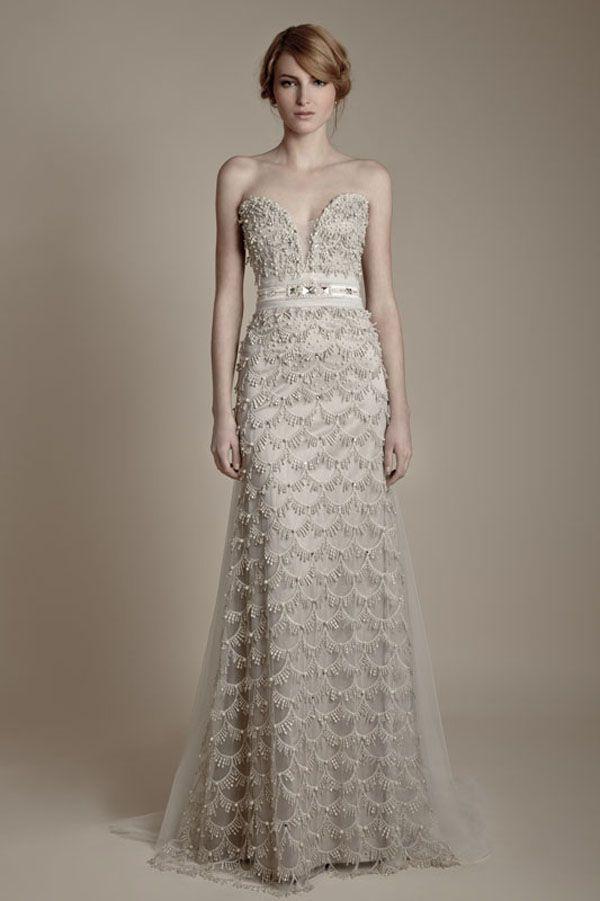 Community Post 25 Dazzling Art Deco Wedding Gowns