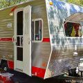 New trailer with a vintage look tin can tourist pinterest