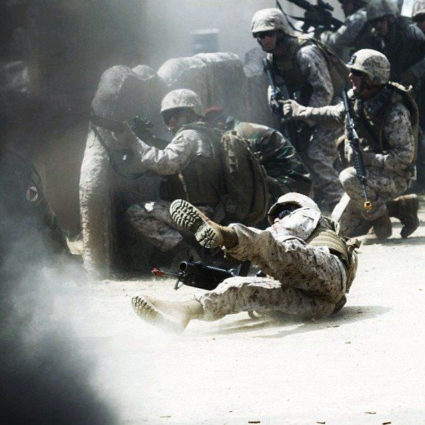 PHOTO: Wounded Marine turns to Instagram exhibiting an amazing account on life in the Corps