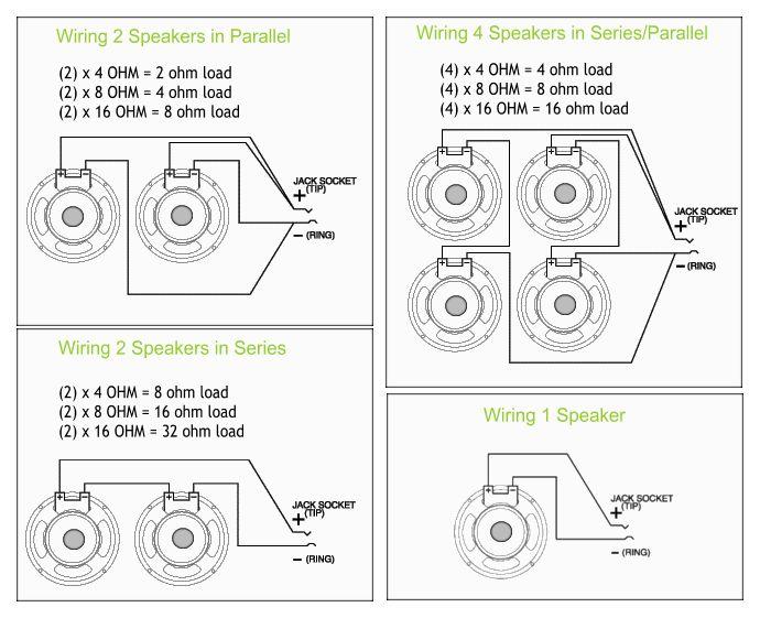 1 4 speaker jack wiring diagram