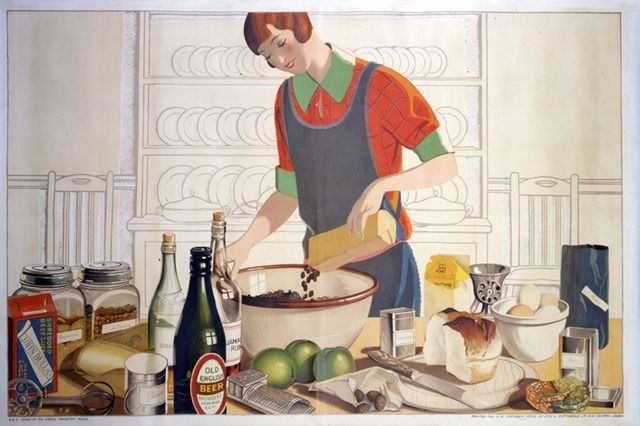 Making the Empire Christmas pudding (ca. 1926); The National Archives UK on The Commons (Flickr); Artwork by F C Harrison produced for the Empire Marketing Board.-- http://www.flickr.com/photos/nationalarchives/5263978078/