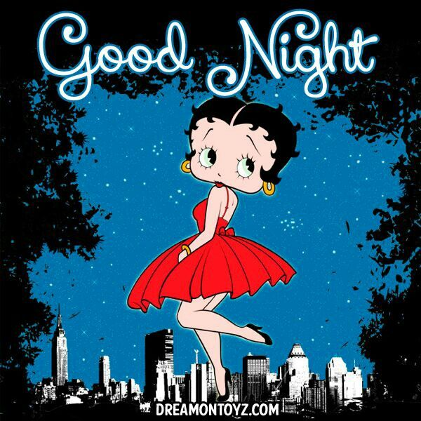 Goodnigt Betty Boop Quote