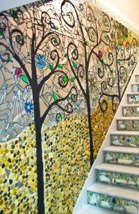 Stone #mosaic wall art | Mozaek | Pinterest