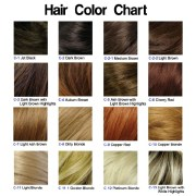 hair color chart light ash brown