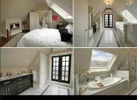 Attic bedroom suite | For the Home | Pinterest