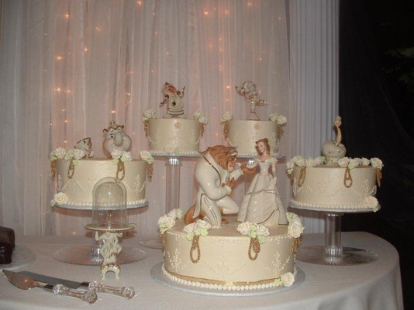 Image result for Beauty and Beast Wedding Cake Topper