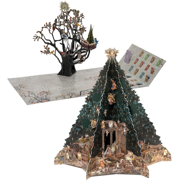 The Met Store Avian Holiday Pop Up And Christmas Tree
