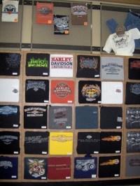 Their T-Shirt Wall | Retail display | Pinterest