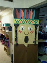 Indian boy classroom door idea | classroom door | Pinterest