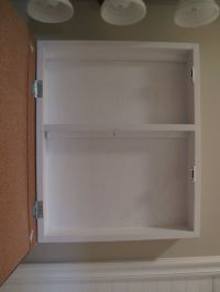 How to make your own medicine cabinet | Bath | Pinterest