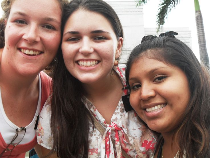 Hermana Ogles and me with one of the recent converts in our area at the temple.