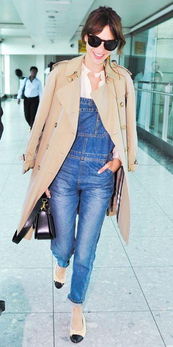 No estilo jet-set: 22 roupas para vestir em um plano Inspirado-celebridade - Alexa Chung de #InStyle
