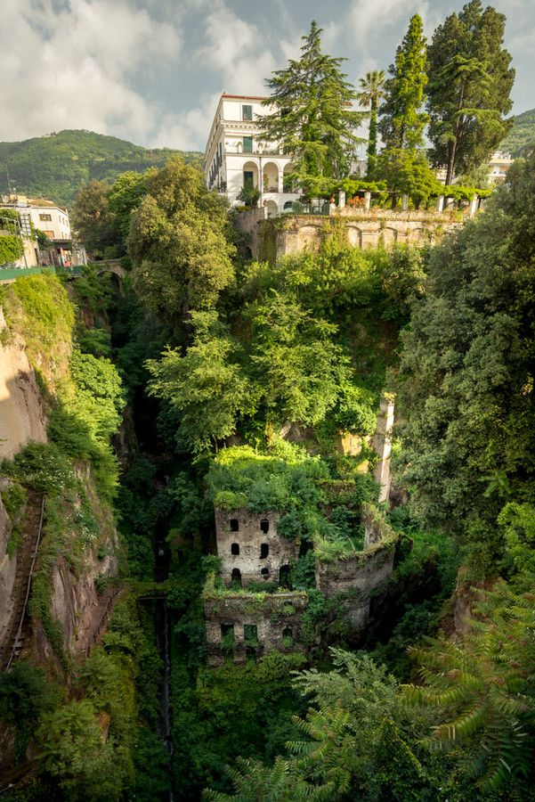 The old mill in Sorrento, Campania, Italy
